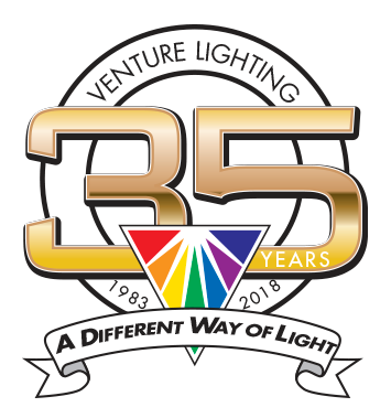Venture Lighting 35 Years Anniversary