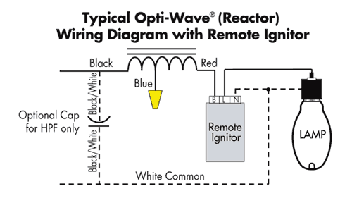 lamp ignitor diagram